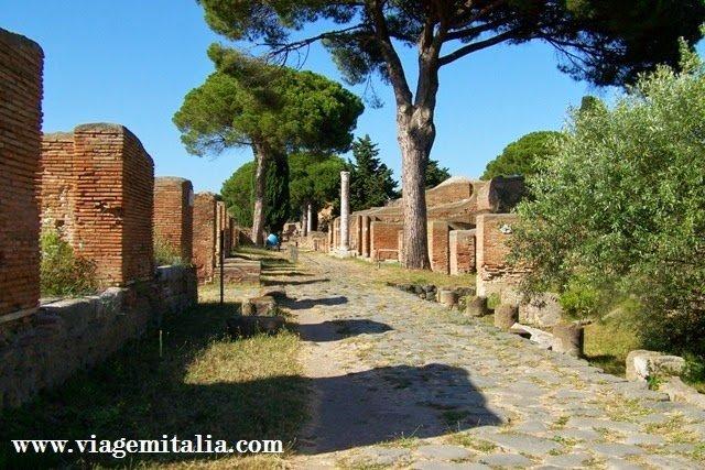 Ostia Antiga, em Roma: para caçadores de arqueologia romana