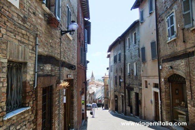 Urbino, cidade-natal de Rafael.