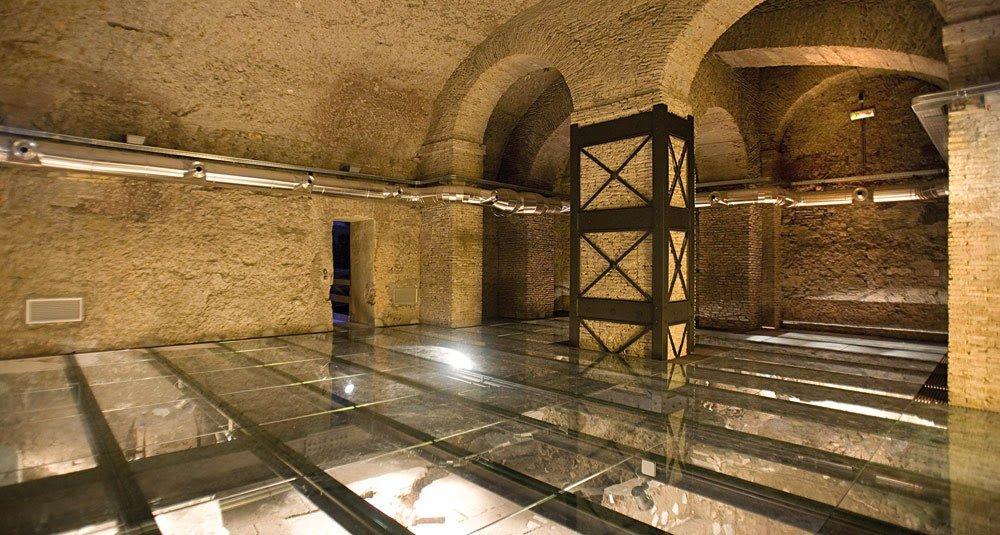 🏛️ Domus Romanas do Palácio Valentini em Roma