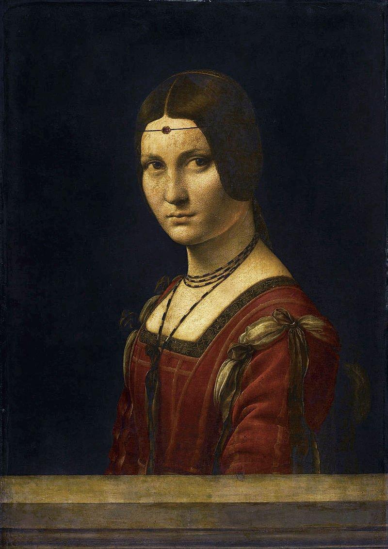 La Bella Ferronière.