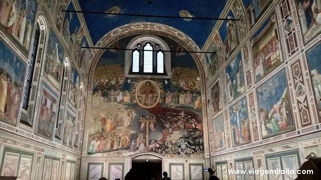 🎨 Capela degli Scrovegni, Pádua:  obra-prima de Giotto