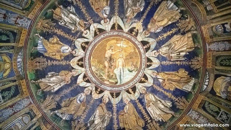Batistério dos Arianos, Ravena.