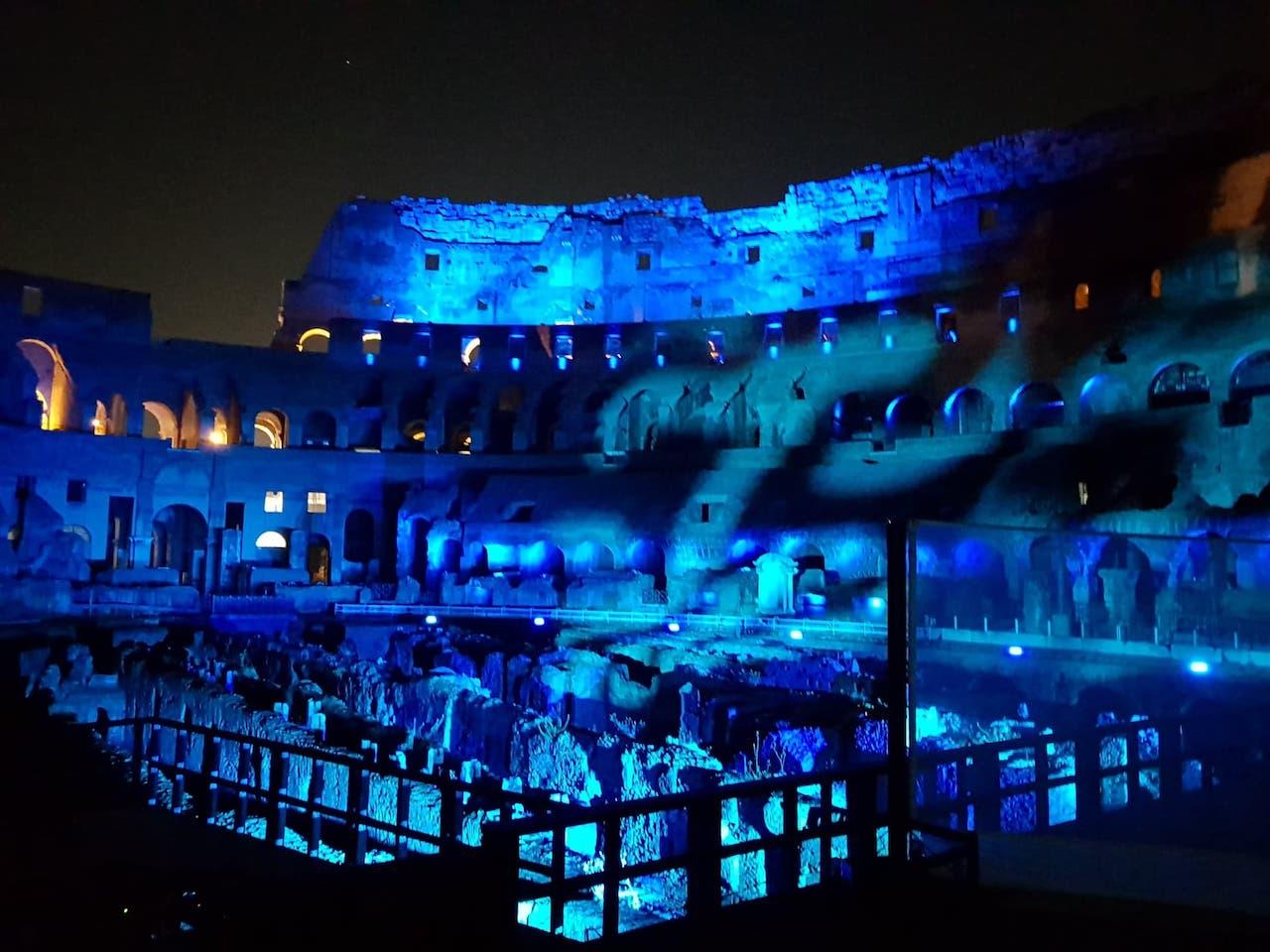 sangue e arena show imersivo no coliseu de roma
