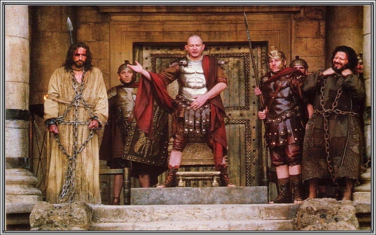 O sacrifício de Pôncio Pilatos em Roma e o julgamento de Jesus Cristo ✝️