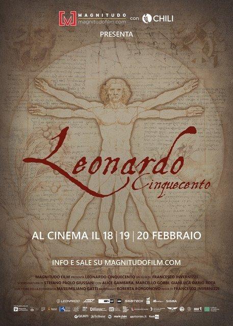 📽️ Filme Leonardo Cinquecento. Para celebrar a genialidade de Da Vinci