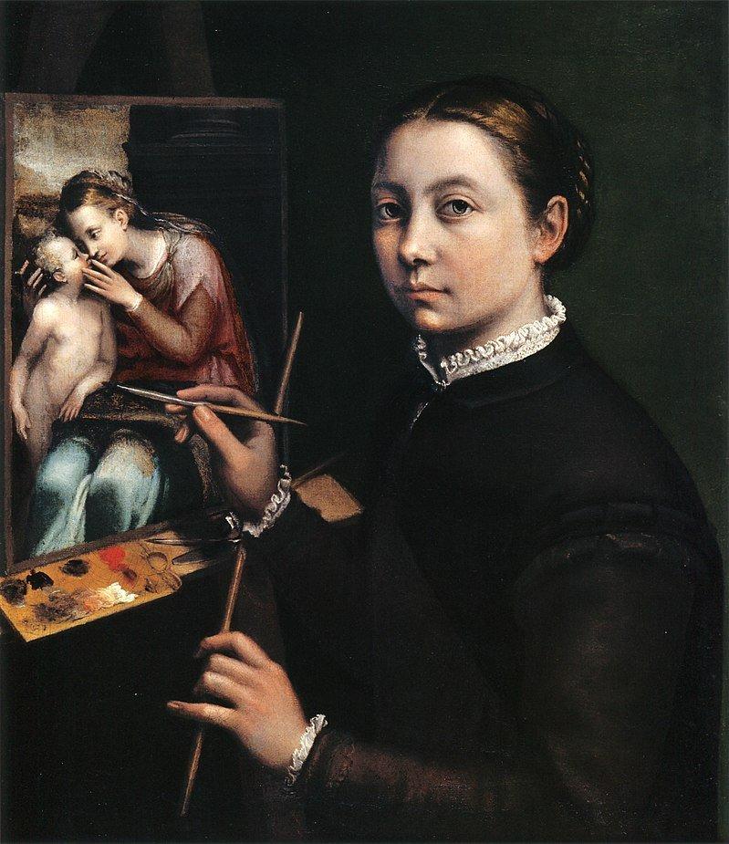 👩🎨 Sofonisba Anguissola, primeira artista de glória internacional